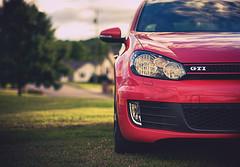 GTI (Proleshi) Tags: auto red car volkswagen 50mm automobile dof shine 14 vehicle headlight gti 50 josephs jamal d300s 50mm14afs proleshi jamalejosephs