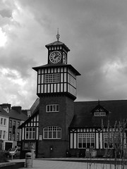 What time is it? (Mrs Judge) Tags: blackandwhite clocktower northernireland portrush whattimeisit