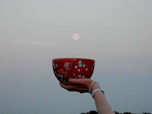 Womb Bowl and Moon