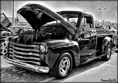 '53 Chevy Truck (Photos By Vic) Tags: old classic chevrolet truck vintage antique pickup chevy vehicle 53 carshow 1953 dramatictonemapped