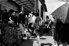 Metro entrance (cjacky2221) Tags: china blackandwhite bw monochrome subway metro chinese beijing ubahn   schwarzweiss  peking chinesepeople   beijingsubway beijingstreet  beijingmetro   strasenfotografie  strasenfotos pekingfotos