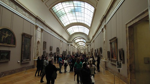 Grande Galerie, Denon Wing, Musée du Louvre, Paris