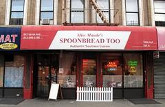 Miss Maudes Spoonbread Too (neppanen) Tags: usa newyork america cuisine restaurant harlem manhattan southern storefront authentic spoonbread ravintola discounterintelligence sampen missmaudes spoonbreadtoo