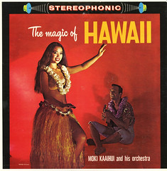 The Magic Of Hawaii (Jim Ed Blanchard) Tags: woman sexy girl grass vintage hawaii weird store dance funny ukulele album magic vinyl skirt cheesecake lei novelty jacket thrift cover orchestra ugly lp record sleeve moki kooky cutoffs kaaihui