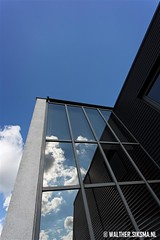 WS20130912_2986 (Walther Siksma) Tags: reflection clouds office blauw spiegel nederland wolken business kantoor grijs gelderland reflectie barneveld 2013