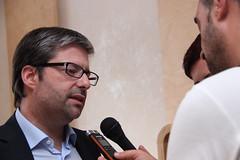 Marco António Costa em Beja
