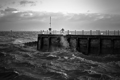 don't turn away (stocks photography.) Tags: storm harbour stocks whitstable stjude onemanandhisdog whitstableharbour takeaview stocksphotography michaelmarsh whitstablephotography whitstableinwinter stjudesdaystorm