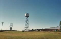 17. The KSNW radar tower (now no longer there!), Haven, 9 5 04 (leverich1991) Tags: haven 2004 hope exploring north mount harvey kansas patterson reno newton hutchinson sedgwick yoder halstead hesston burrton