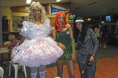 Miss Muffett Dress 1 (aurora145) Tags: pink girly sissy satin lacy crossdresser crossdress hairbow pinksatin shinysatin leannesprettydresses