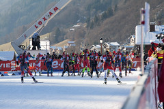 Women Relay - WC Biathlon Annecy-Le Grand-Bornand 2013