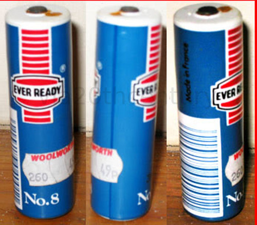 ever ready battery no8