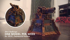Personal Challenge 49/52 (maclef) Tags: chaos fortifications warhammer40k vengance renegates