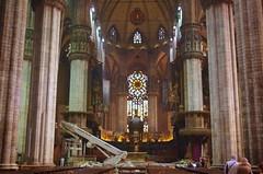 Milan, Duomo,  l'intrieur de la Cathdrale 15 (paspog) Tags: italien italy milan italia cathedral milano duomo italie katedral caythdrale