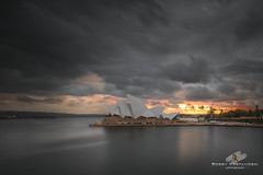 Ozzy Icon [Explored] (Bobby Krstanoski - Photography) Tags: summer architecture sunrise canon opera harbour outdoor sydney places nsw operahouse australiaday sydneyharbour stormclouds eastcoastaustralia canonef1635f28 sydneyhistory canon5dmarkiii focusnswseascapelandscapephotography vision:night=0703 vision:sky=099 vision:car=0909 vision:outdoor=0604 vision:clouds=0943 vision:city=0892