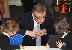 "Stephen Mosley MP joins Michael Gove on visit to St Martins Academy, Hoole • <a style=""font-size:0.8em;"" href=""http://www.flickr.com/photos/51035458@N07/12291849895/"" target=""_blank"">View on Flickr</a>"