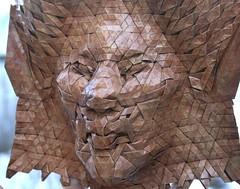naga 5 (origami joel) Tags: face paper origami mask joel cooper tessellation origamijoel