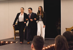 """USFCA: HMA's """"Suit Yourself"""" Fashion Show (aoconstantino) Tags: school people fashion business suit management casual yourself hma usfca"""