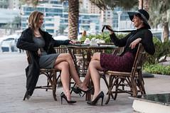 Sara and Nataliya -44 (Willy_G91) Tags: color fashion marina 50mm blog nikon dubai sara dress outdoor walk united uae emirates arab shooting 18 d300 marinawalk nataliya dubisa httpwwwdubisacom