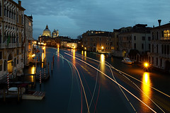 Venice by night (Village9991) Tags: venice night lighttrail alwaysexcellent