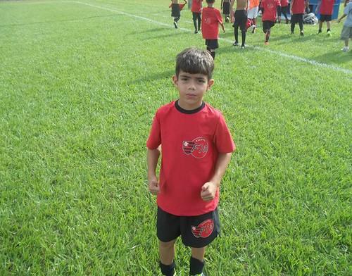 Adriel da Escolinha do Flamengo em Uberlândia foi revelado ao Flamengo