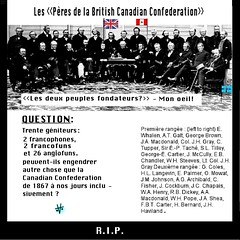 Les pères fondateurs de la British Canadian Confederation