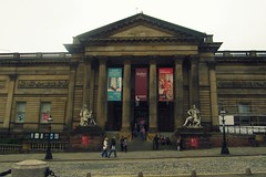 Liverpool - Walker Art Gallery (PavleMadrid) Tags: street england brown art liverpool march gallery united foggy kingdom william walker quarter cultural 2014