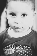 Little Boy   Help Potrait (alifakmal) Tags: boy blackandwhite bw 50mm little potrait d7000