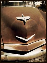 rusted Kaiser - Casa Grande DVAP (redrock flyer) Tags: rust rusty rusted kaiser oldcar kaisermanhattan dvap dvapcasagrande