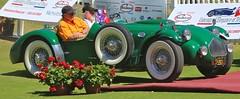 1952 Allard J2X Roadster (Bill Jacomet) Tags: auto show lake green car la texas resort concours spa 52 allard 1952 roadster 2014 conroe delegance torretta of j2x