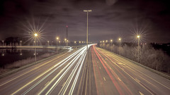 58 - 27 jan 2015 (brechtvhb) Tags: longexposure clouds lights highway 100v10f project365 flickraward5