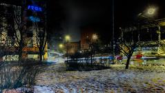 27.1.2015  Tiistaiaamu Tuesdaymorning Turku bo Finland (rkp11) Tags: morning schnee winter snow suomi finland dark vinter turku traffic streetlights hiver nieve nevada january enero neve tuesday invierno neige snowfall lumi inverno talvi janvier zima  sn hdr januari januar gennaio tammikuu nieg nevicata bo 1 2015    stycze  aamu   1     tiistai aninkaistenkatu  southwestfinland  hdrefexpro2 opadyniegu puutoriturku 2712015