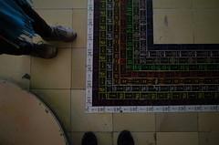 directions @ KABK Open Dag 2015 (milov) Tags: people art feet shoes mine floor denhaag exhibition tiles feed opendag thehague ricohgr kabk kabkopendag2015