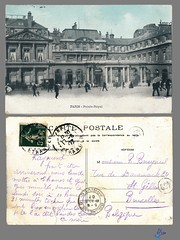 PARIS - Palais-Royal (bDom) Tags: paris 1900 oldpostcard cartepostale bdom