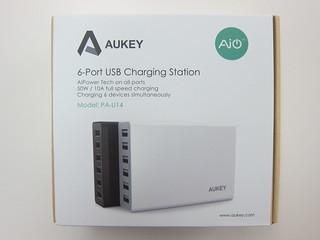 Aukey 50W 5V/10A 6-Port Wall Charger