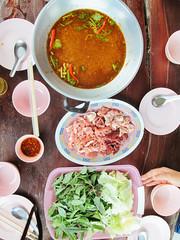 แจ่วฮ้อนสมุนไพรที่จังหวัดขอนแก่น แถวน้ำพอง อร่อยมาก