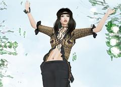 LUXE Paris - AFRICA (Rehana MiSS SLVietnam, Face of CHOP ZUEY 2015) Tags: fashion secondlife laboheme rehana penumbra dva slink purepoison posesion luxeparis chopzuey rehanaseljan
