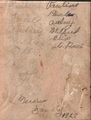 Paul Mercier family 1927 back (Valrico Runner) Tags: paul audrey mercier pauline mildred olin