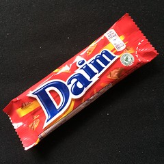 Daim is available at my local IGA (Figgles1) Tags: food chocolate iphone daim img1004