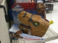Hasbro Jurassic World Tyrannosaurus Rex hand puppet (splinky9000) Tags: world ontario toys hand dinosaur puppet kingston rex jurassic trex wal hasbro tyrannosaurus mart