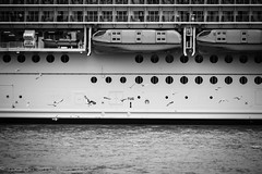 Harmony of the Seas (www.margosmit.com) Tags: blackandwhite canon blackwhite rotterdam harmony cruiseship maas cruiseterminal cruiseschip canoneos100d harmonyoftheseas