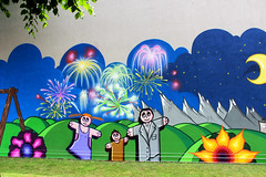 """Garbelli - Detail: Wiz Boys family"" by WIZ ART (Wiz Art) Tags: street italy streetart detail art wall writing landscape photography graffiti artwork artist puppet wallart spray streetartist futurism writer spraypaint graff graffitiartist bergamo aerosolart graffitiart wiz sprayart legality streetstyle wizart flickrgraffiti graffitism sprayartist wizboy loopcolors"