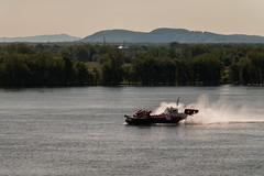 Hovercraft (langdon10) Tags: coastguard canada boats quebec harbour montreal shoreline nautical navigation hovercraft stlawrenceriver canon70d