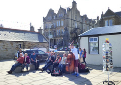 An Impromptu Folk Session At Stromness (orquil) Tags: old uk greatbritain public sunshine statue buildings fun during islands scotland town spring interesting orkney locals outdoor folk may sunny musical backdrop session impromptu spontaneous stromness onlookers folkfestival adjacent johnrae orcades stromnesshotel