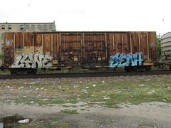 09-01-10 (26) (This Guy...) Tags: road railroad car train graffiti box graf rail rr traincar boxcar graff 2010