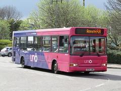 KE04 UMB (markkirk85) Tags: new bus buses pointer uno hatfield dart umb 119 52004 slf borehamwood transbus universitybus ke04 ke04umb