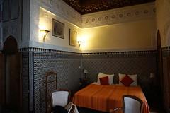 Fes Morocco-Dar El Bali Hotel-Room.1-2016 (Julia Kostecka) Tags: hotel dar morocco fes guesthouse riad feselbali darelbali