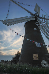 June sunset at Holgate Windmill - 5