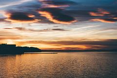 Luleå (bruit_silencieux) Tags: sunset sea sky sun clouds canon sweden roadtrip arctic lapland 7d sverige scandinavia suède luleå laponie sigma35mm14art
