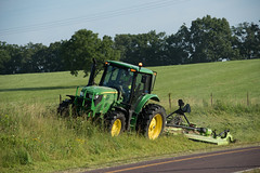 D6060_CM-166 (MoDOT Photos) Tags: green rural heavyequipment colecounty mowers centraldistrict modot safetygear bycathymorrison d6060