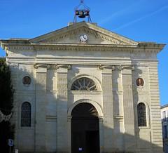 Eglise St Orens d'Auch (Doonia31) Tags: glise faade horloge cloches ciel bleu pierres sculptures colonnes vitraux porte auch gers
